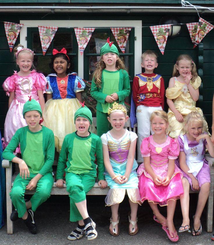 wwww.leukverjaardagsfeestje.nl De droom van elk kind, je verkleden als prins of prinses.