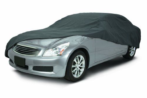 Classic Accessories 10-016-241001-00 OverDrive PolyPro III Heavy Duty Compact Sedan Car Cover. For product info go to:  https://www.caraccessoriesonlinemarket.com/classic-accessories-10-016-241001-00-overdrive-polypro-iii-heavy-duty-compact-sedan-car-cover/