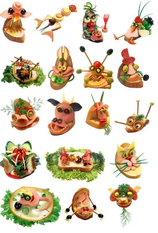 Chlebíčky (1) :: Domací kuchařka - vyzkoušené recepty