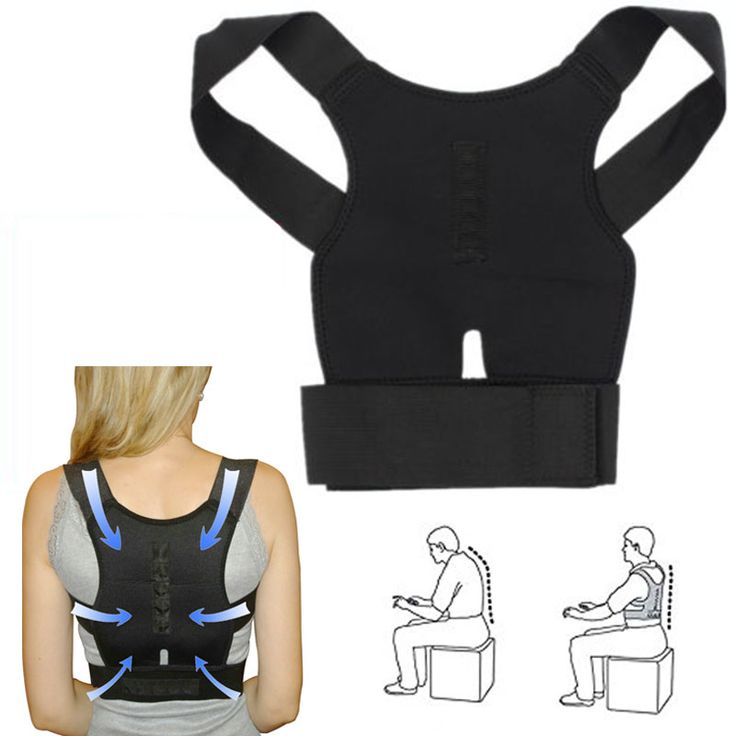 Adjustable Back Belt Support Posture Corrector Braces //Price: $10.00 & FREE Shipping //     #hashtag3