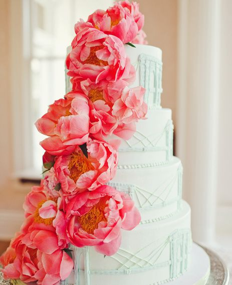 The Best Wedding Cakes Of 2014|The Knot