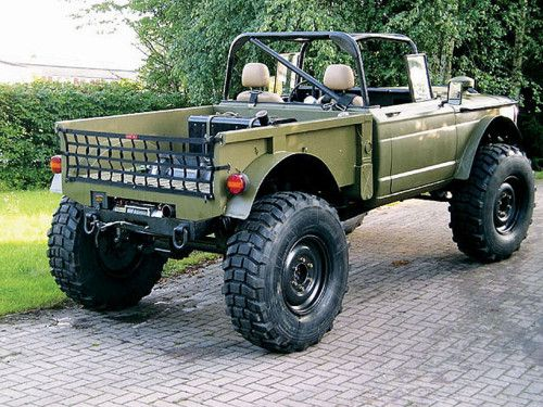 1967 Jeep M715, looks to me like its put together from spare parts