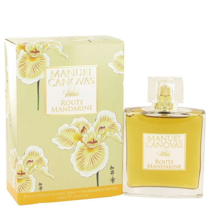 New #Fragrance #Perfume #Scent on #Sale  Route Mandarine by Manuel Canovas 3.4 oz EDP Spray - Created by the design house of Manuel Canovas in 2007, Route Mandarin is a delightful women's fragrance. Featuring exotic notes of Madagascar ylang-ylang, Ceylon cinnamon and Egyptian pelargonium with sunny, sweet accents of orange and Italian mandarin, this scent transitions easily from casual afternoons at the office to formal evening events. Spray it on before a visit with friends to bring out…