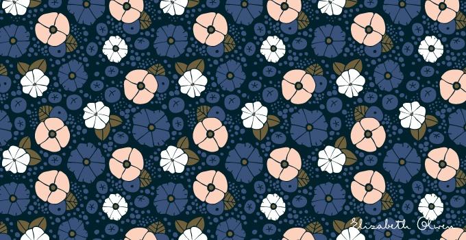 Elizabeth Olwen, Aderyn series. Via Victory Patterns blogPrints Pattern, Art Pattern, Pattern Design, Victory Pattern, Excited Pattern, Pattern Blog, Pattern Prints, Floral Pattern