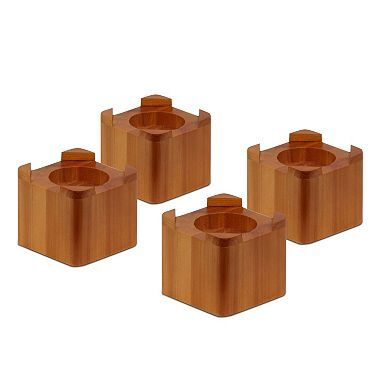 Honey-Can-Do Solid Wood Bed Risers (4-pack) | $22.38 | Sam's Club
