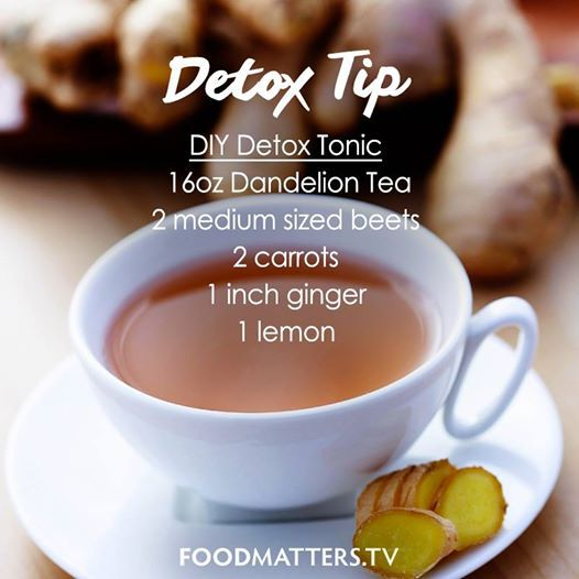 This is a simple detoxing tonic you can make to help stimulate your digestive system, promote elimination of toxins & boost your immune system with essential nutrients!