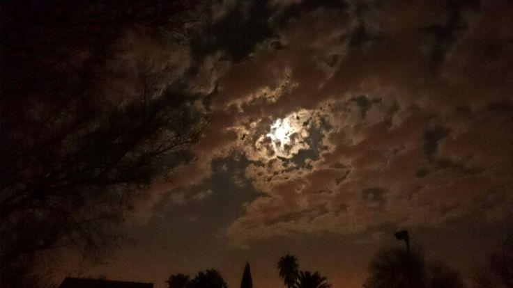 """Werewolf Moon ""Supermoon 10 August 2014 Sunward Park Boksburg"