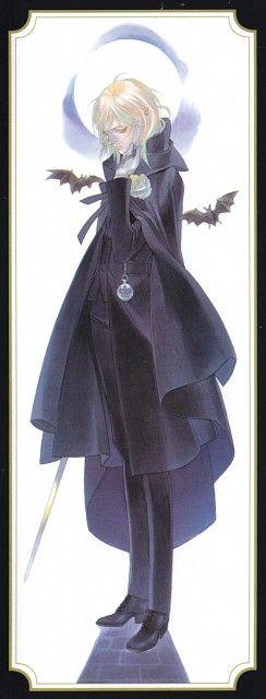 Shibamoto Thores, Gonzo, Trinity Blood, Manga Cover