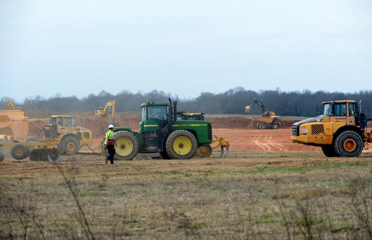 Construction crews have begun moving dirt and grading the site of a future Valeant Pharmaceuticals distribution facility in Spartanburg County. The
