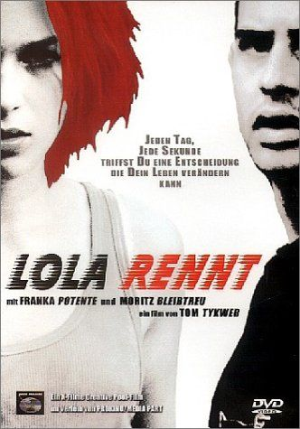 best run lola run images film posters movie  1998 wiki run lola run german lola rennt literally lola runs is a 1998 german film written and directed by tom tykwer and starring franka potente as