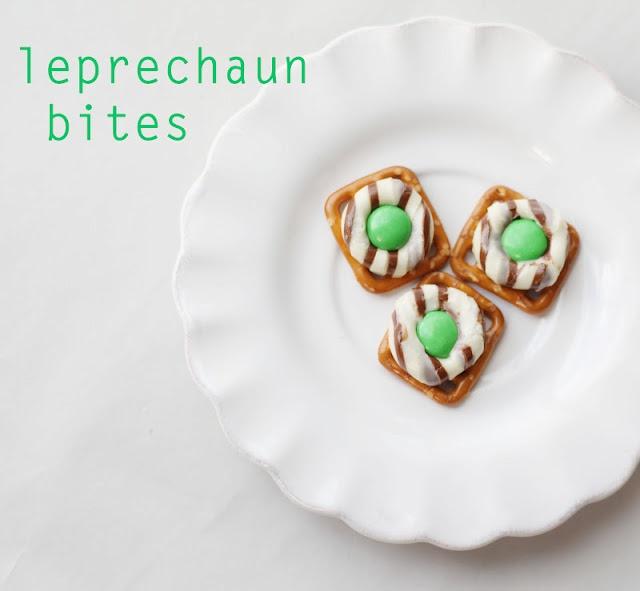 Leprechaun Bites    http://ourdailyobsessions.blogspot.com/2012/03/treats-leprechaun-bites.html