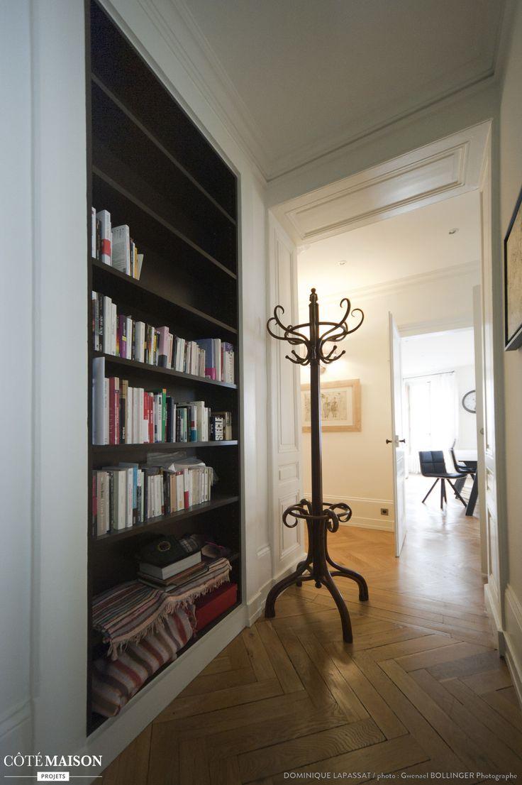 r novation d 39 un appartement haussmannien lyon dominique lapassat c t maison home spot. Black Bedroom Furniture Sets. Home Design Ideas