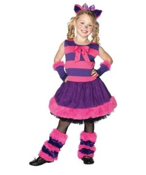 Your full of mischief yes everyone knows, never seem to have a frown on your face you have a grin that glows. Cheshire Cat Alice Movie Costume for Girls - Kids...
