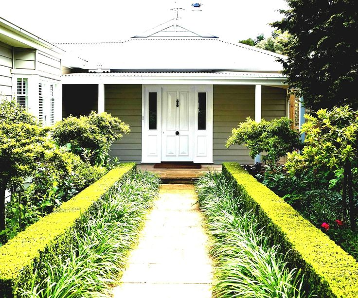 Low Maintenance Front Garden Ideas Nz With Small Full Me ...