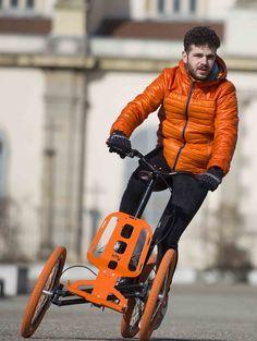 Bio-tiful urban mobilité ! Voici kiffy, joyau de l'industrie du cycle stéphanoise, fabriqué à  90 % à Saint-Etienne.