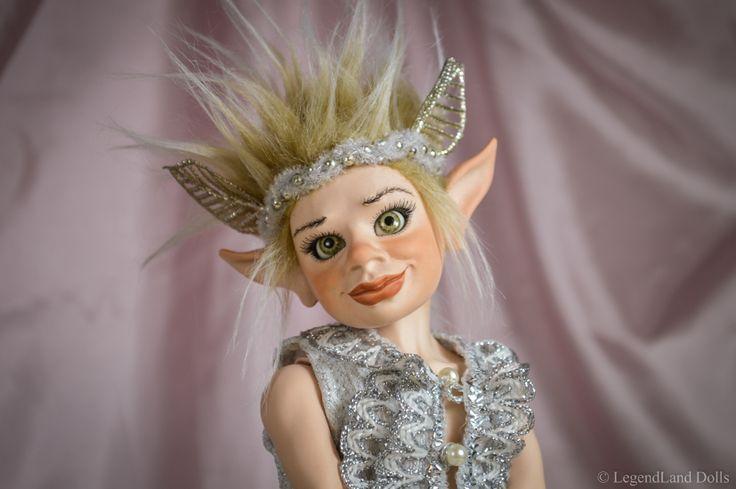 Handmade art doll, BJD boy. Fantasy male porcelain dolls by LegendLand Doll
