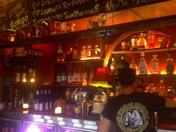 The bar at Uncle Mings - cool sydney small bar