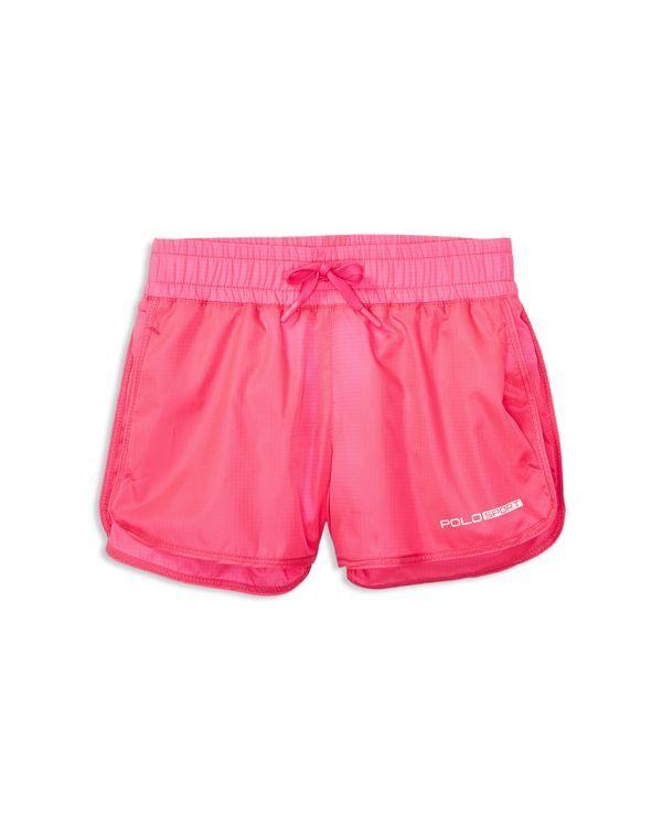 Ralph Lauren Childrenswear Girls' Ripstop Shorts - Sizes 2-6X