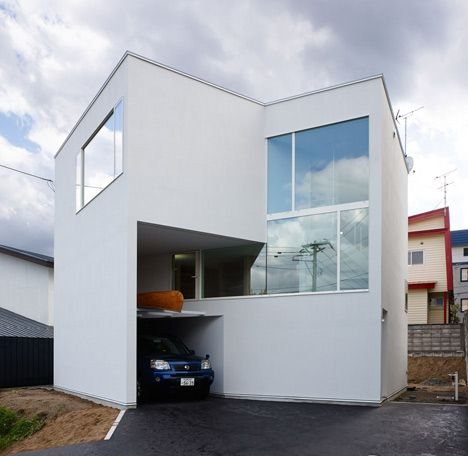 northern nautilus by takato tamagami - Japanese Architecture Small Houses