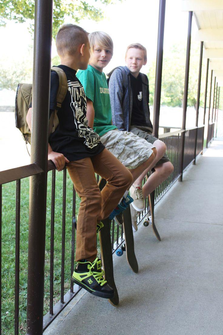 Boys Back To School