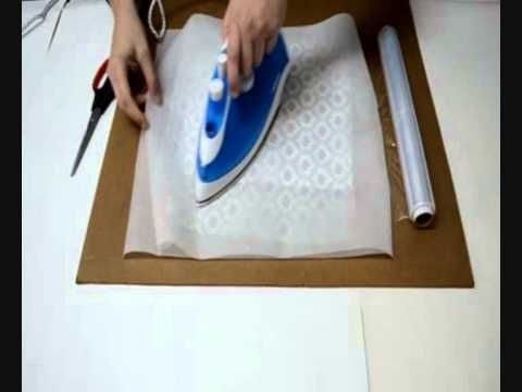 Como hacer papel de scrap con servilletas - YouTube