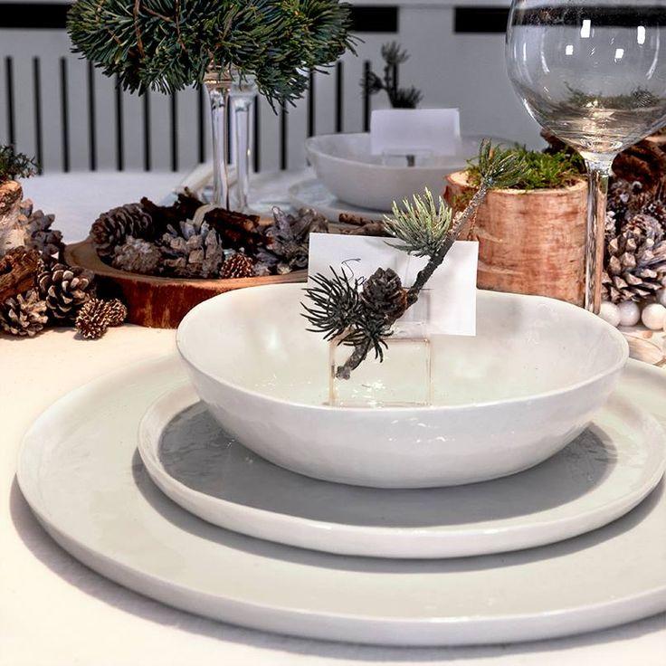 Dit servies van Pomax geeft extra karakter aan de feesttafel. Geef iedere zitplaats een naamkaartje met glazen houdertjes. Of voorziet u liever persoonlijke boodschapjes voor uw gasten?