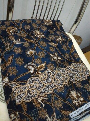 Bluedru printed batik style