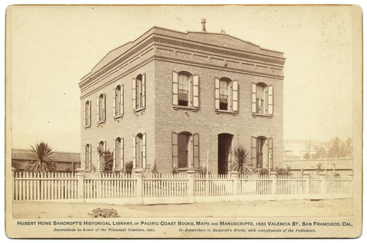 This is how I picture Marietta's Crawford County Library, where Taylor Harris, my heroine in Beauty's Kiss works.  Marietta's Library would have been built around the same time at this Hubert Howe Bancroft's Historical Library, 1883.