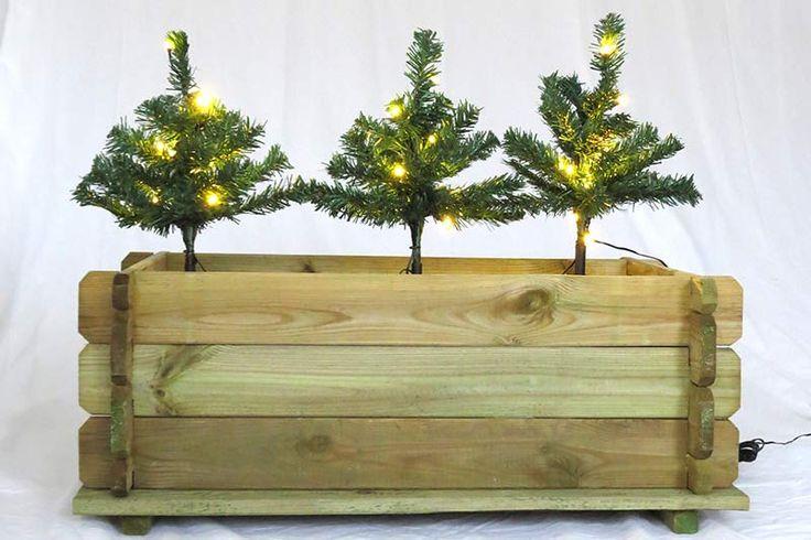 Die besten 20 mini lichterkette ideen auf pinterest for Weihnachtliche gartendekoration
