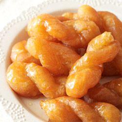 Rooibos koeksisters - a crispy twist of syrupy sweetness