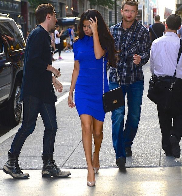 Elle's Fashion Boudoir : Selena Gomez in Vionnet   New York City - Selena Gomez Style