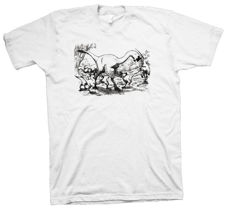 Oviraptids T-Shirt , Dinosaur Science Geek Paleontology Nerd Dino Funny - T-Shirts