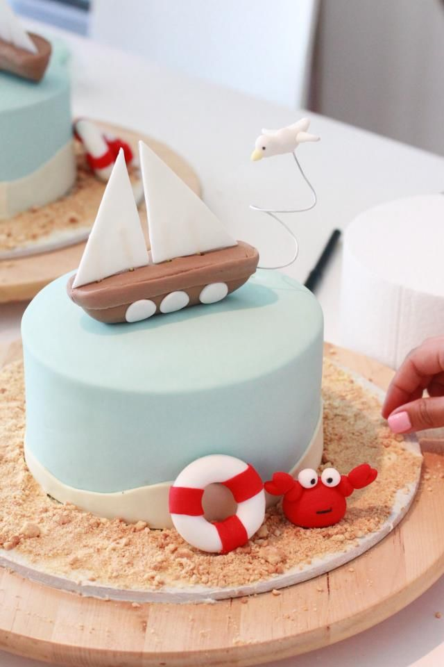 Nautical Cake by Sharon Wee Creations