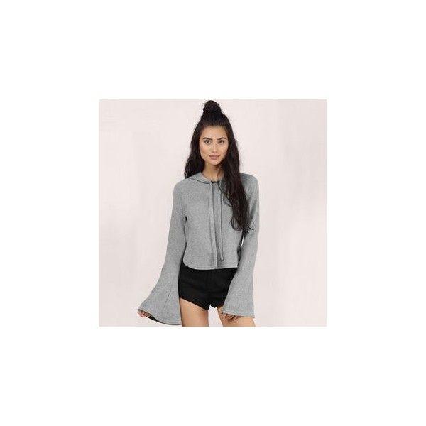 Bell Sleeve Hooded Pullover ($23) ❤ liked on Polyvore featuring tops, hoodies, sweatshirt, women, pink hoodie, bell sleeve tops, pink hoodies, pink hooded sweatshirt and hoodie top