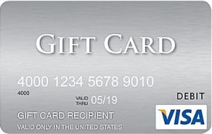 Best options for buying Visa and MasterCard gift cards - with your name on them