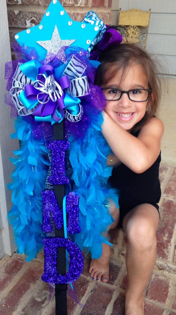 Custom Cheer or Dance Spirit Stick by OliviasBoutique on Etsy