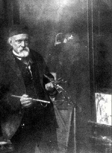 Cezanne, Paul (1839-1906) - 1904 by Emile Bernard