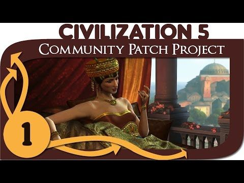 Civilization 5 - Ep. 1 - Community Patch Project as Byzantium - Let's Play - Gameplay - YouTube