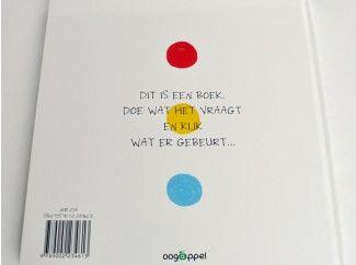Interactief kinderboek zonder mechanische snufjes.
