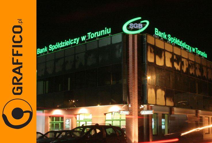 Signage manufacturer, illuminated signage, signs assembly, montaż produkcja reklam, producent reklam, Graffico,  3D  signs, channel letters, illuminated letters, illuminated pylons,  litery 3D, litery aluminiowe, litery blokowe, reklama świetlna, producent reklam świetlnych litery led, neon, podświetlane logo, illuminated lettering, illuminated logo, fascia signs, letter box, sign letters, metal letters, metalowe litery, backlit channel letters, halo lit letters, illuminated led