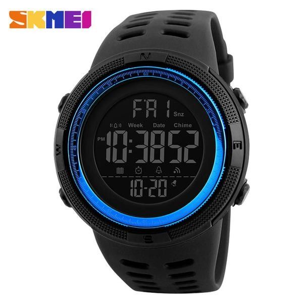 https://totalcomfortapparel.com/products/50m-waterproof-fashion-watch  #BackTheBlue #police #watch #fashion