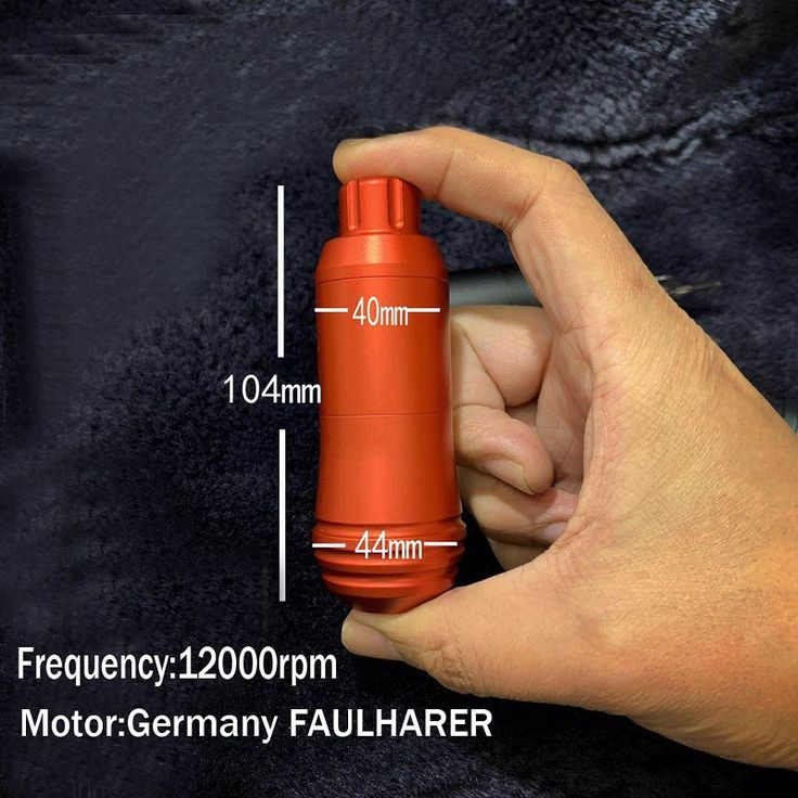 Faulhaber motor dc connections tattoo short pen rotary