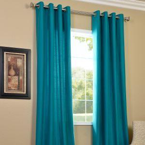 Turquoise Curtain Panels Blackout