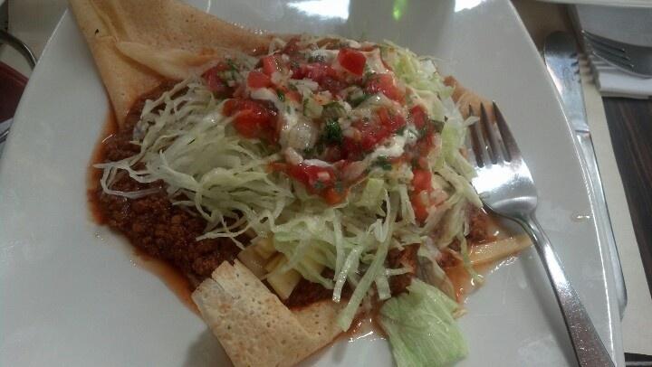Crepes mexicano