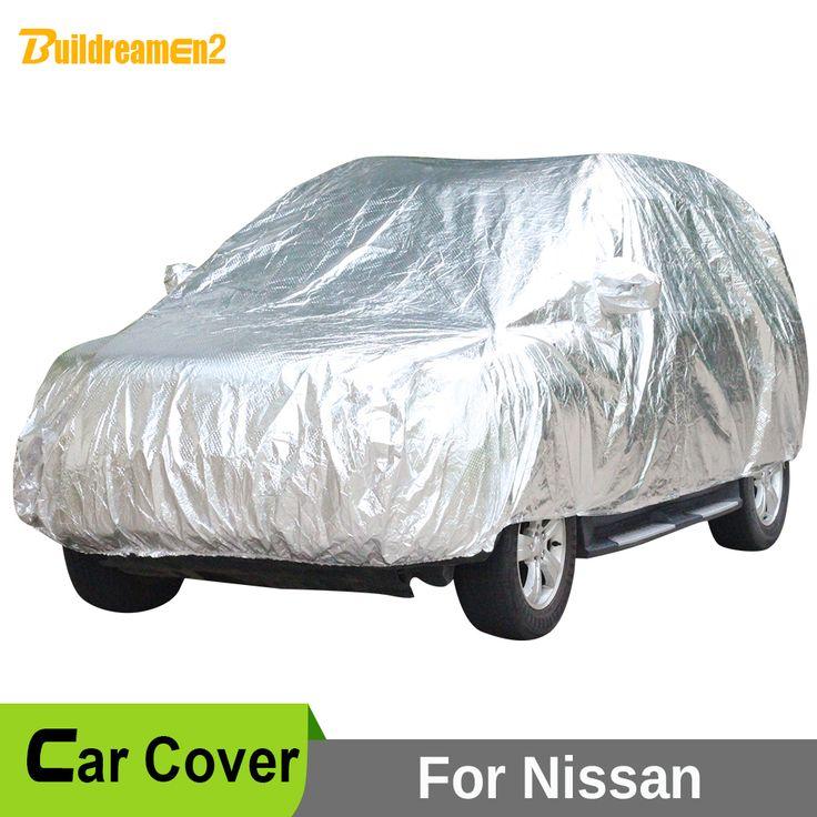 Buildreamen2 Car Cover Waterproof Sun Rain Hail Snow Protective Car Covers For Nissan Qashqai Xterra Murano Juke Almera Tino #Affiliate