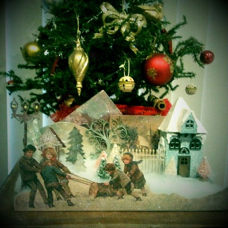 Christmas Decorations For Victorian Homes: 79 Best Christmas Victorian Style Images On Pinterest