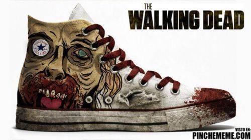 The Walking Dead Converse.