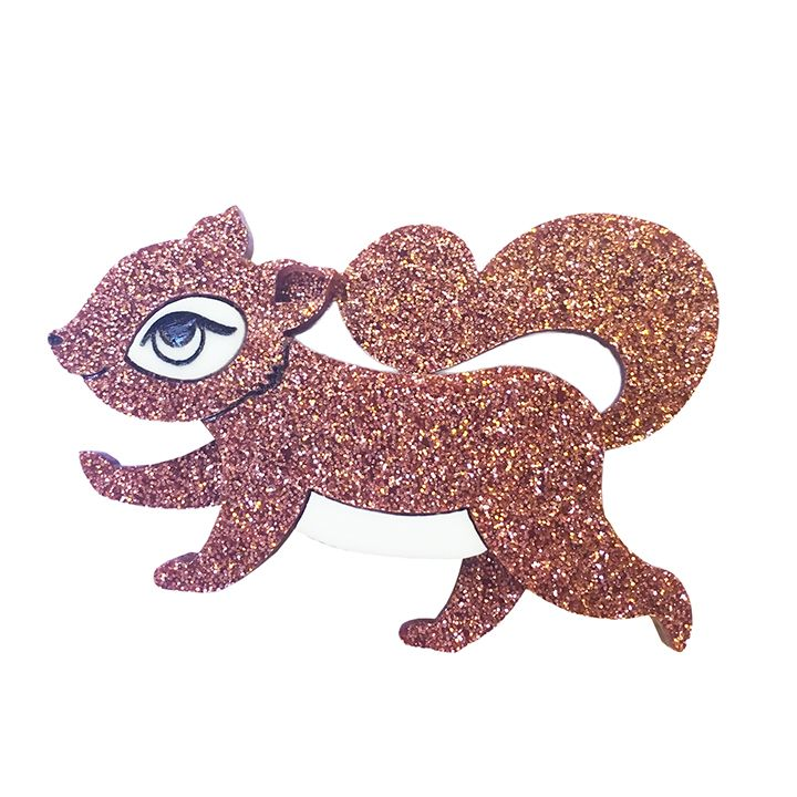 Peppy Chapette | Squirrelling Away Fay - Bronze Glitter (2016)