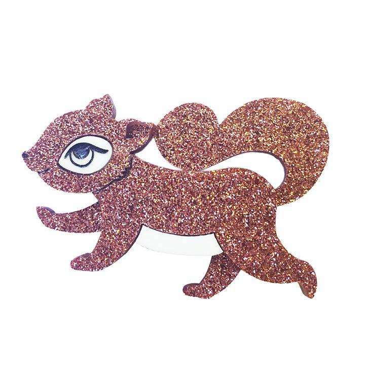 Squirrelling Away Fay - Bronze Glitter | 2016 | Peppy Chapette