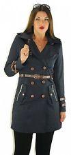 #698 Trenchcoat Damen Mantel Jacke Übergang Sommer Business Damenjacke 36 38 40